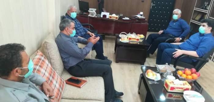 بازدید رئیس اداره حفاظت محیط زیست شوشتر از کشت و صنعت امام خمینی (ره)